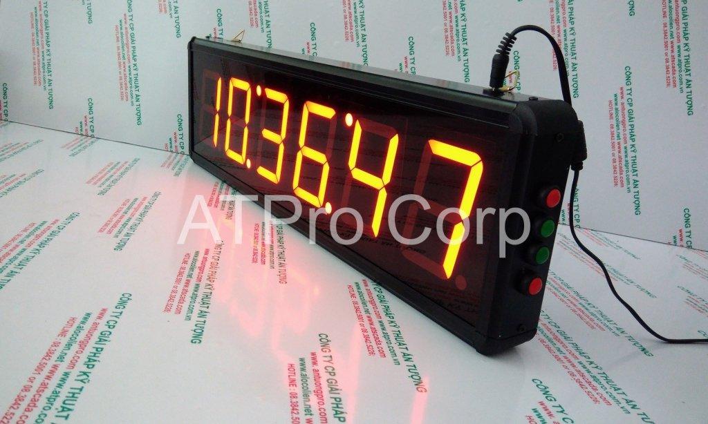 ĐỒNG HỒ ĐIỆN TỬ LED TREO TƯỜNG - DONG HO DIEN TU LED TREO TUONG ATC-HHMMSS-L 2