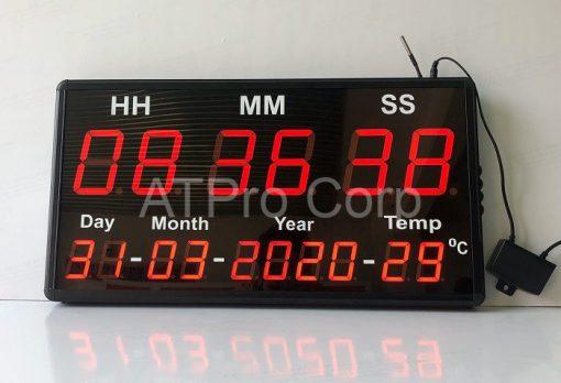 Đồng hồ điện tử treo tường mã ATC-HMS--D-T-S