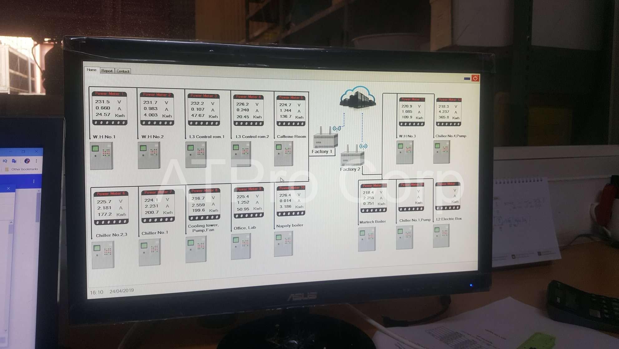 Phần mềm giám sát điện năng