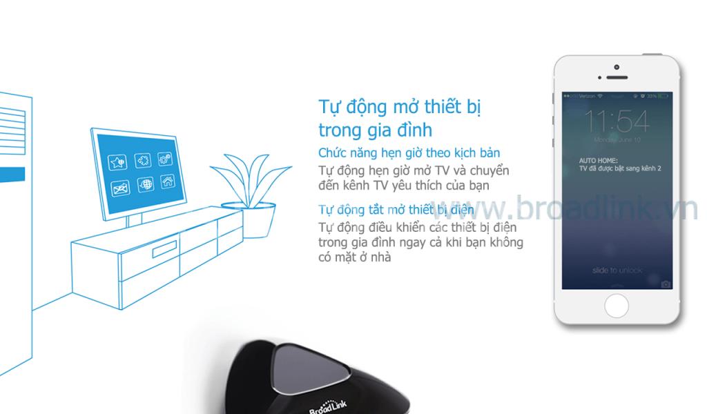 Broadlink RM-Pro 9