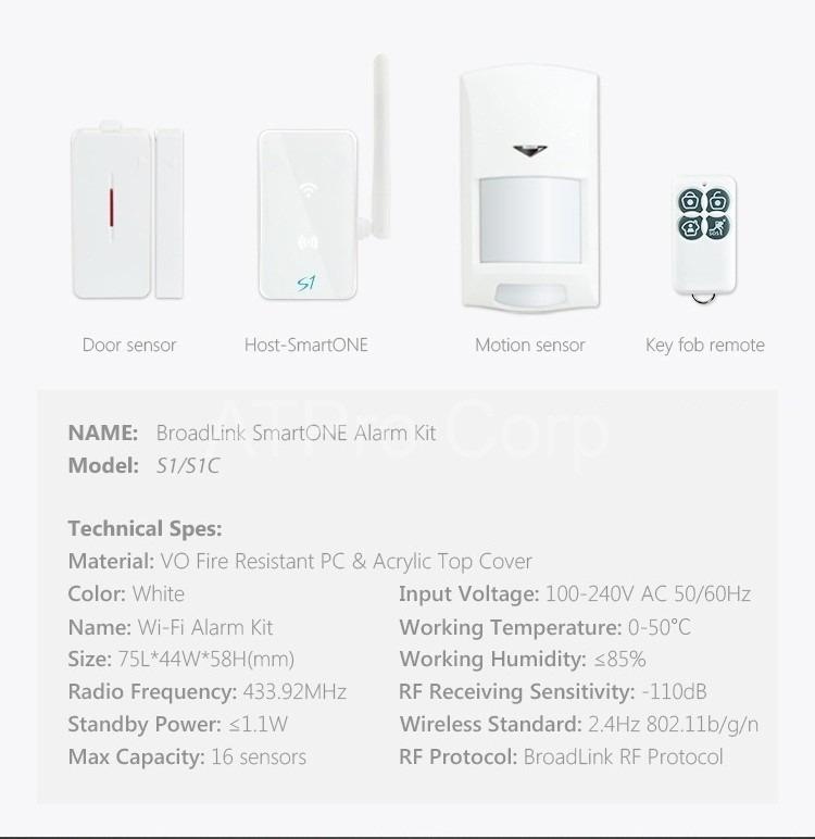 Broadlink-S1-Smart-Home 3