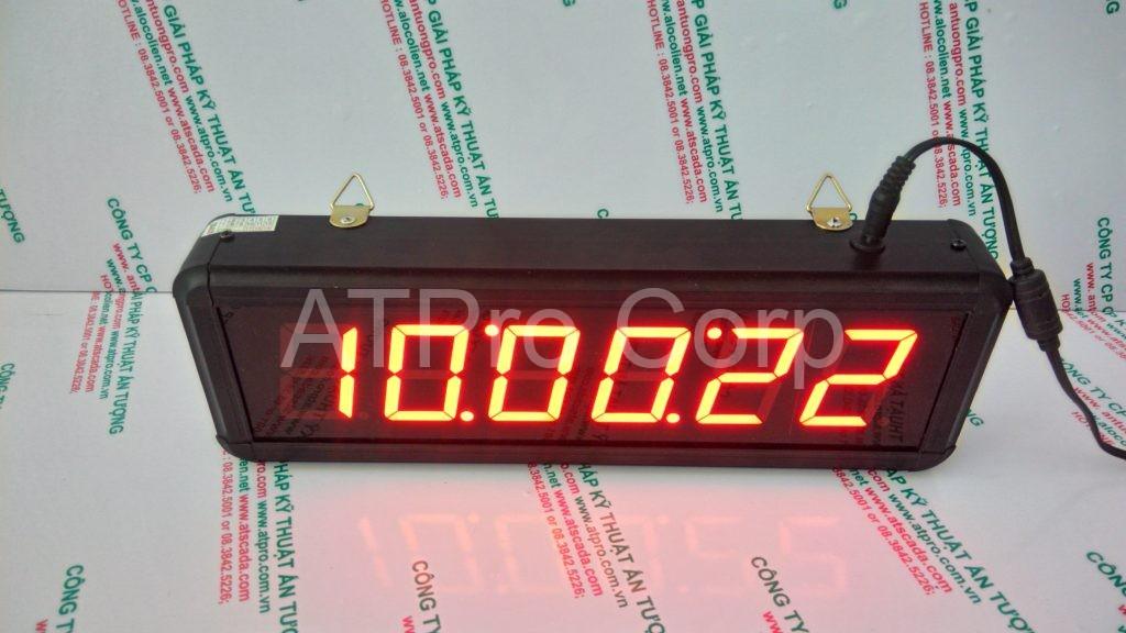 ĐỒNG HỒ ĐIỆN TỬ LED TREO TƯỜNG - DONG HO DIEN TU LED TREO TUONG - ATC-HHMMSS-S 2