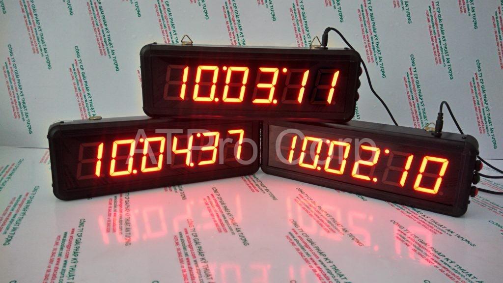 ĐỒNG HỒ ĐIỆN TỬ LED TREO TƯỜNG - DONG HO DIEN TU LED TREO TUONG - ATC-HHMMSS-S 3