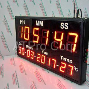 ĐỒNG HỒ LED TREO TƯỜNG (MÃ: ATC-HMS-D-T-L)