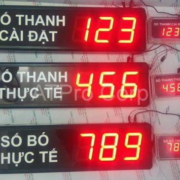 BẢNG ĐIỆN TỬ HIỂN THỊ TỪ PLC (CTY ANH MINH)