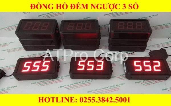 trọn bộ đồng hồ led 3 số đếm ngược thời gian
