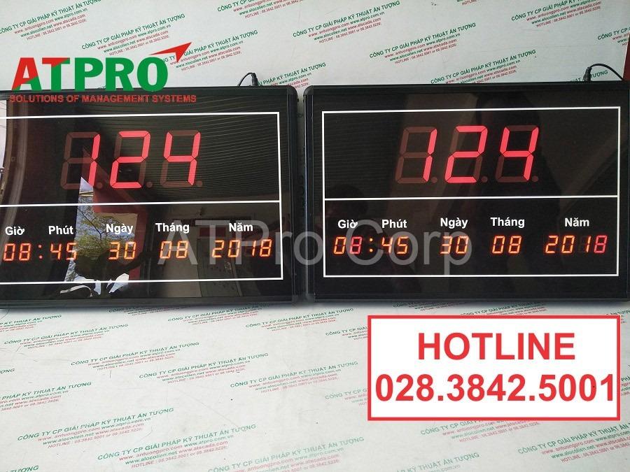 đồng hồ điện tử đếm ngày