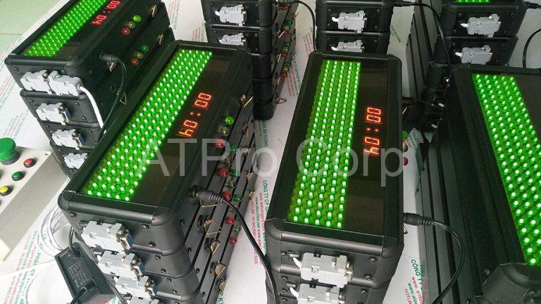 Bảng LED điều khiển ANDON Công ty Juki Việt Nam