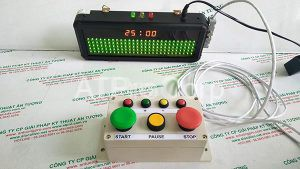 Đèn Matrix LED có Clock