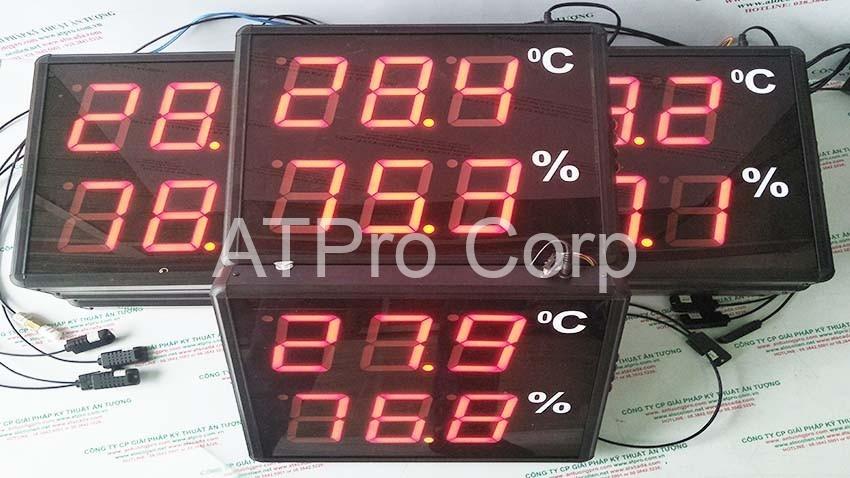 đồng hồ nhiệt độ độ ẩm