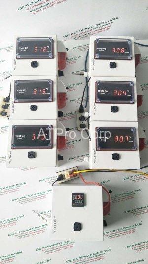 hệ thống giám sát nhiệt độ