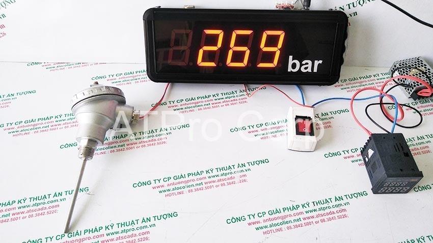 bảng điện tử nhận tín hiệu