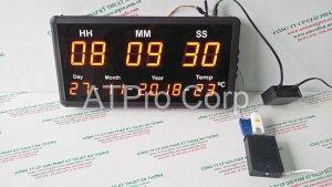 đồng hồ điện tử đồng bộ thời gian internet