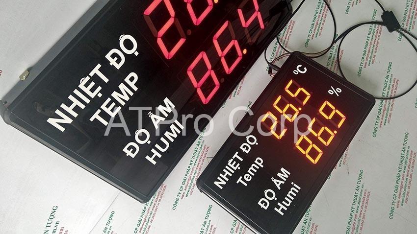 đồng hồ đô nhiệt độ độ ẩm cho công ty bình thịnh