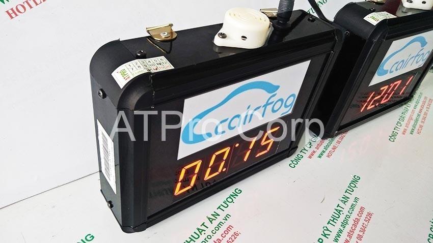 cạnh trái đồng hồ đếm ngược hẹn giờ