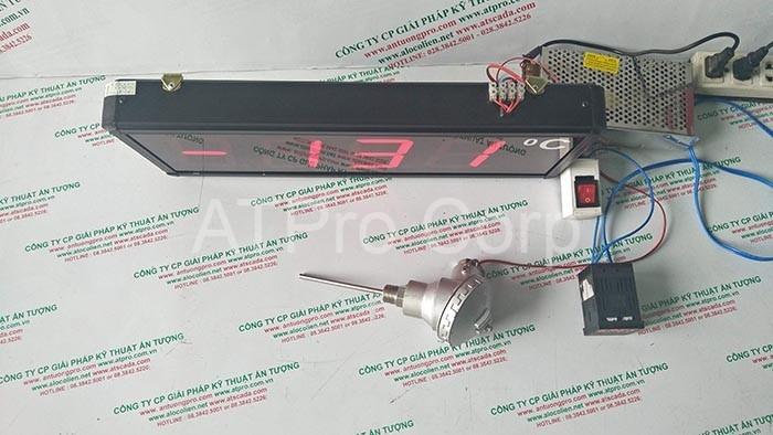 đồng hồ đo nhiệt độ công nghiệp