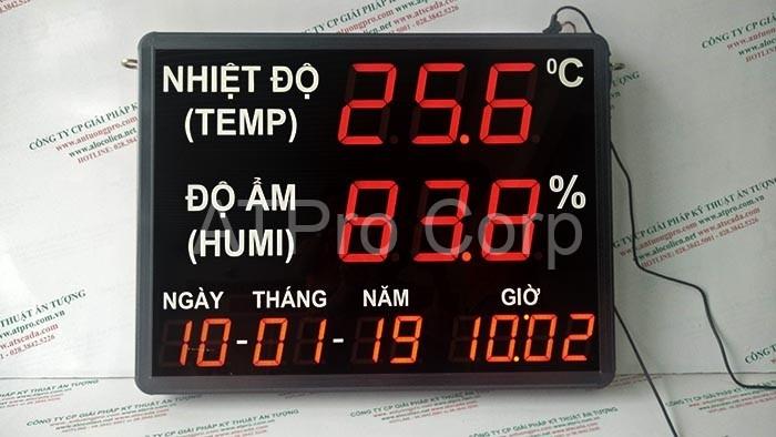 Đồng hồ đo nhiệt độ độ ẩm công ty Lixil