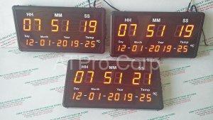 đồng hồ led treo tường 16 số
