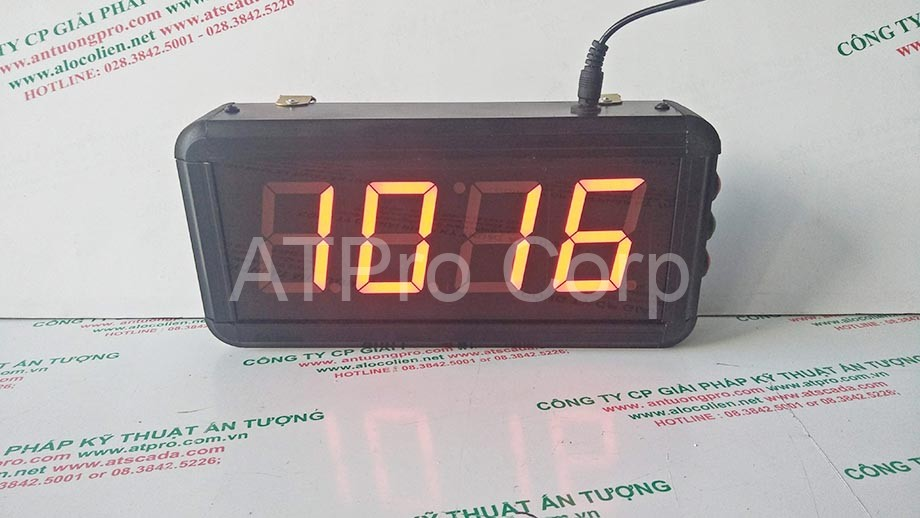 Đồng hồ led 4 số cty sunrise