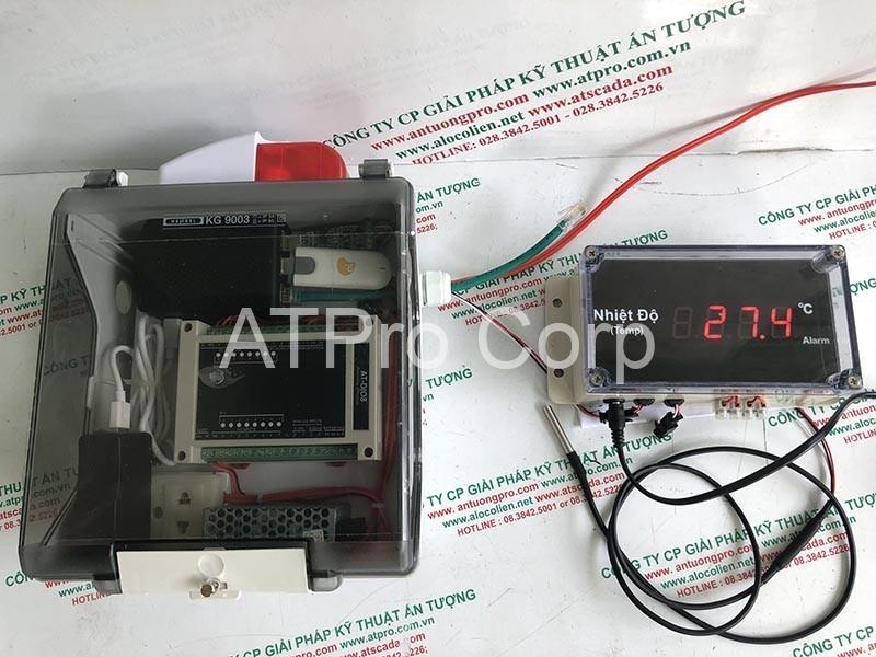bộ giám sát và cảnh báo nhiệt độ