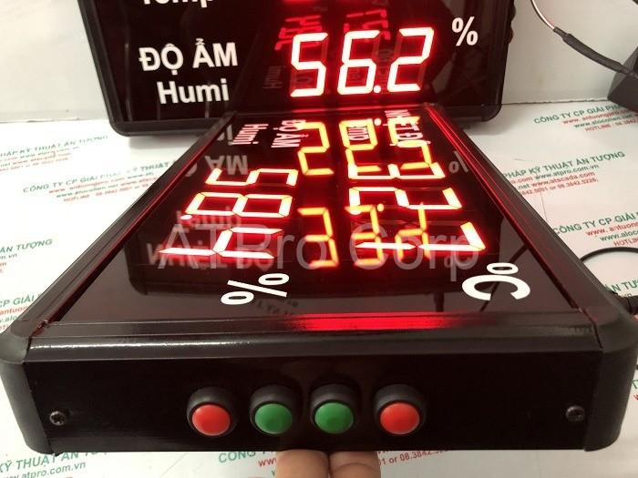 bảng led nhiệt độ độ ẩm