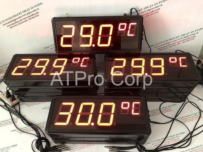 bảng led hiển thị nhiệt độ