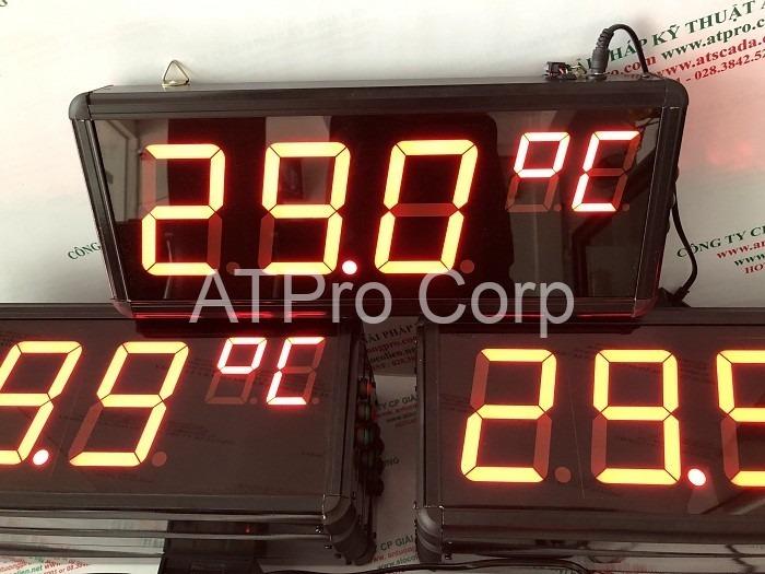 bảng điện tử nhiệt độ
