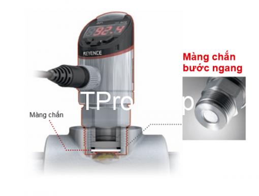 Cảm biến áp suất Keyence có ưu điểm dễ sử dụng và vệ sinh khi cần thiết