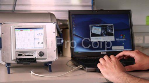ứng dụng thiết bị ghi nhận dữ liệu đồ họa Ecograph T RSG35