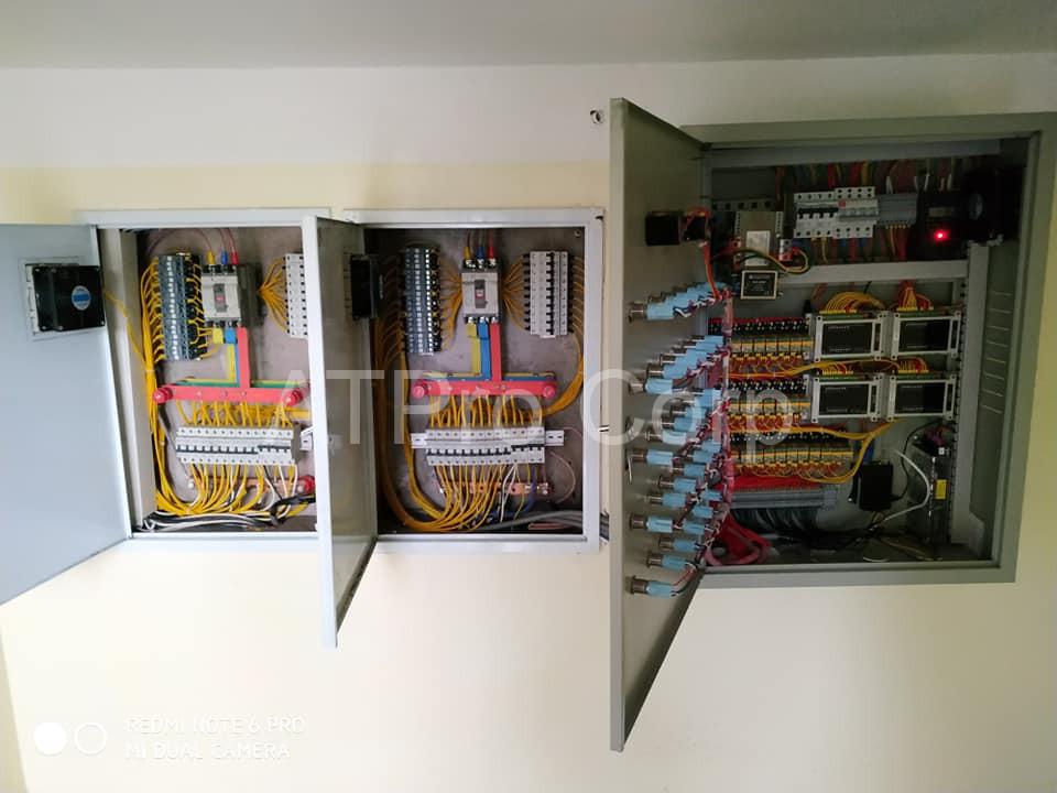 hệ thống giám sát điều khiển thiết bị điện tòa nhà