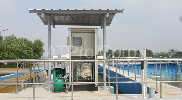 hệ thống quan trắc nước thải