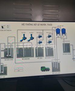 giao diện hệ thống xử lý nước