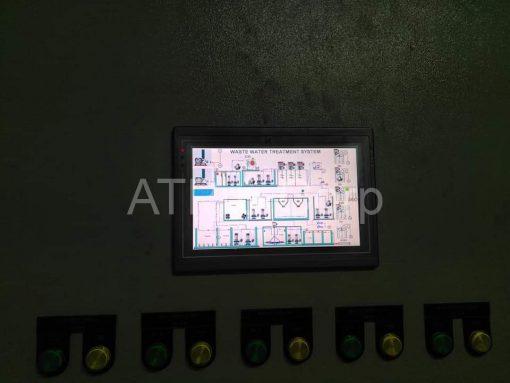 HMI giám sát xử lý nước thải