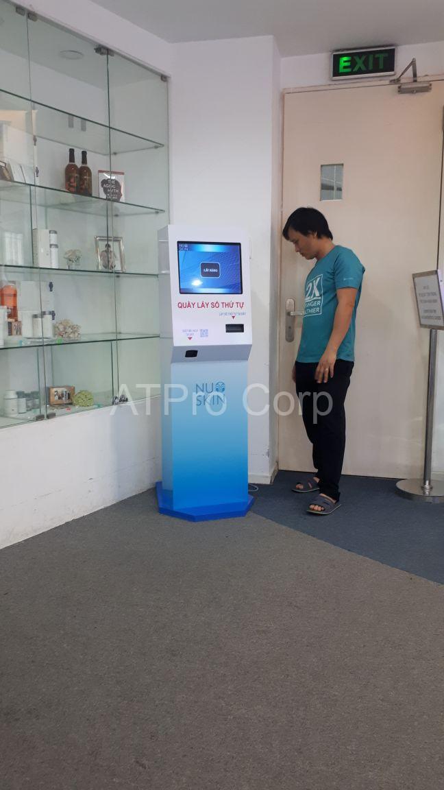 Kiosk in phiếu thứ tự