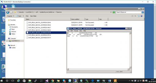 Truyền dữ liệu về Sở đường truyền FTP