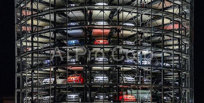 Bãi đỗ xe tự động giúp tiết kiệm diện tích, chi phí