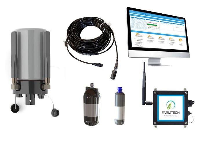 Các thiết bị kiểm tra các yếu tố môi trường trong ao nuôi