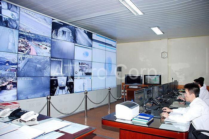 Hệ thống giám sát sản xuất sẽ cho biết sản lượng trên dây chuyền