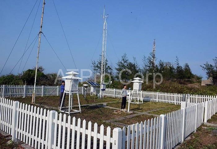 Hệ thống đo mưa chuyên dụng gồm nhiều thiết bị và máy móc cấu thành nên