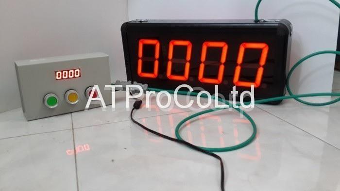 Bảng đếm số lượng hiển thị 4 số mang thương hiệu ATPro Corp