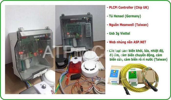 Hệ thống giám sát môi trường phòng máy chủ