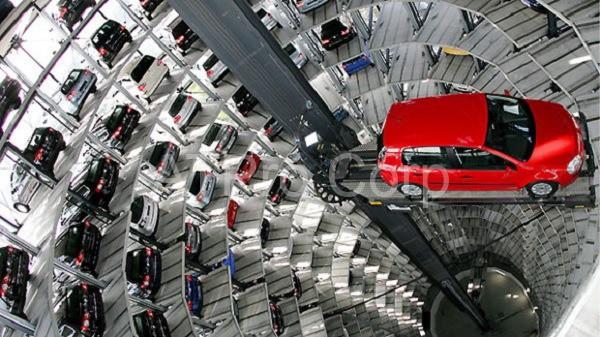 thiết kế bãi đỗ xe thông minh