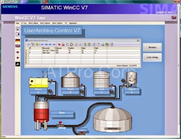 WinCC là một module nằm trong hệ thống tự động hóa