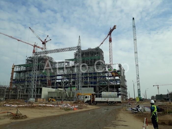Công việc đo độ lún và đo chuyển dịch nền móng của các công trình xây dựng được tiến hành trong khoảng thời gian xây dựng.