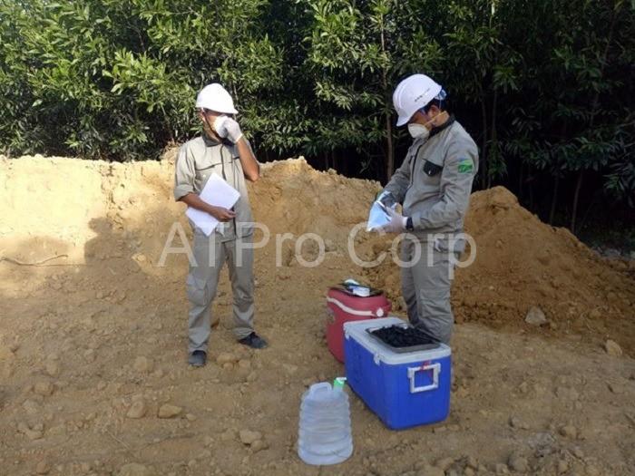 Khi tiến hành quan trắc môi trường đất, cán bộ thực thi sẽ phải đo đạc và thu thập rất nhiều dữ liệu.