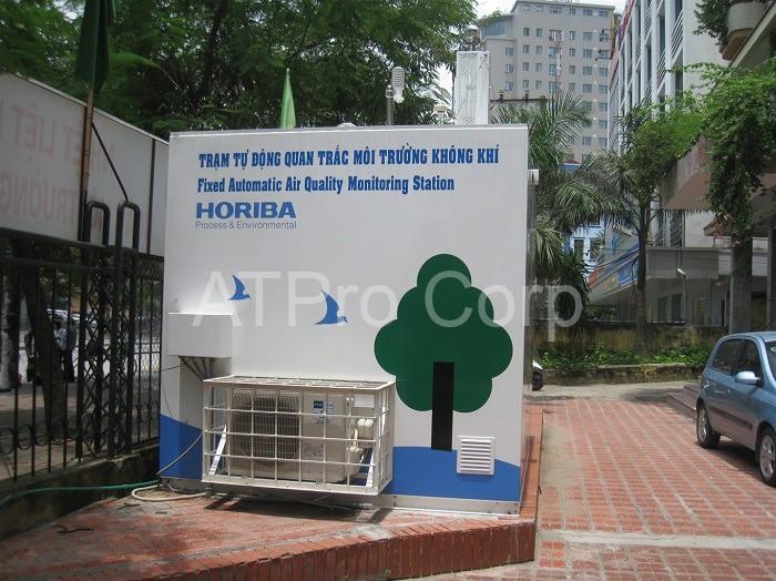 trạm quan trắc môi trường tự động