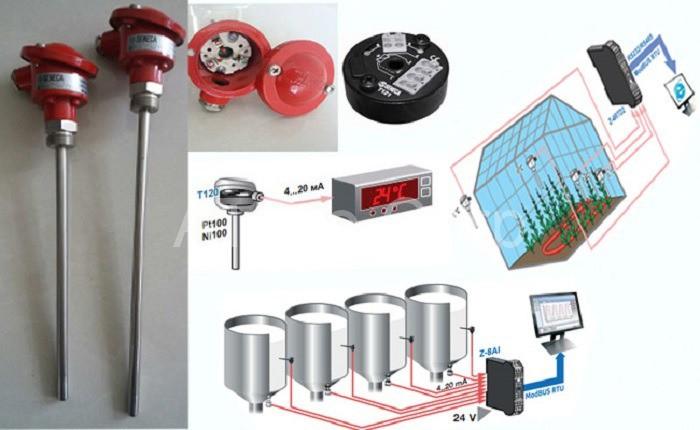 Máy cảm biến nhiệt độ của ATPro Corp