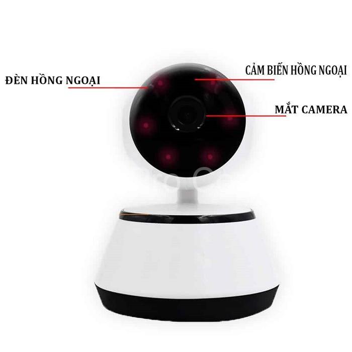 Thiết bị giám sát bằng điện thoại có quan sát hình ảnh rõ nét khi thiếu ánh sáng