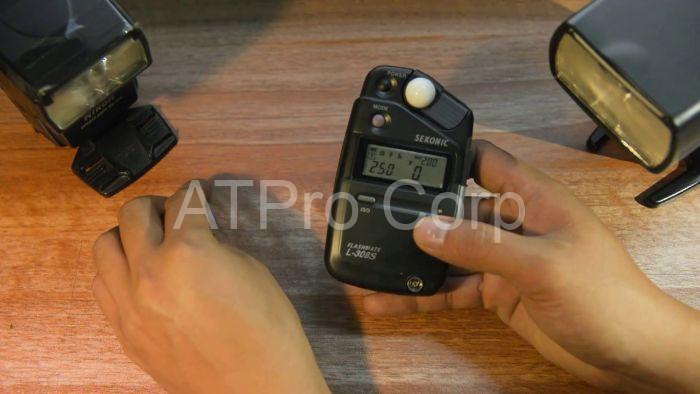 Khi sử dụng, thiết bị đo sáng cho máy ảnh sẽ giúp bạn biết được lượng ánh sáng trong cài đặt của khẩu độ