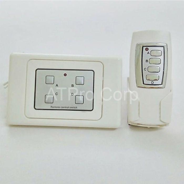 Thiết bị điều khiển bóng đèn gồm hệ thống cảm biến ánh sáng